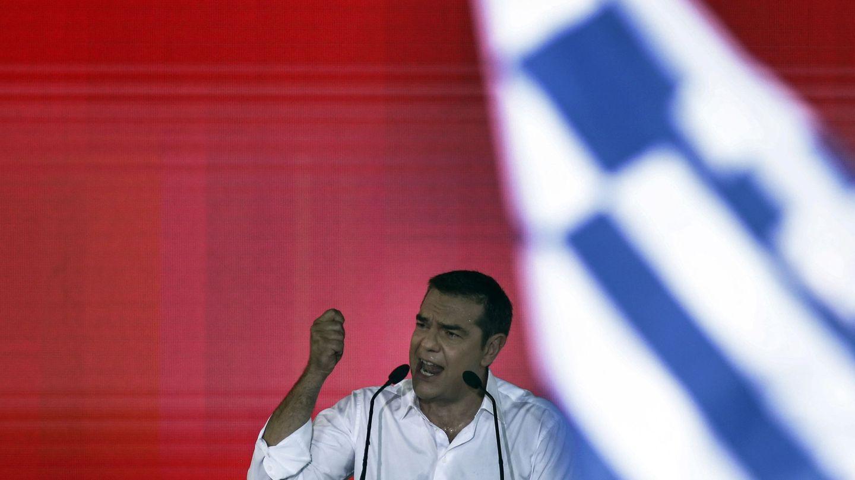 Alexis Tsipras durante un acto previo a las elecciones de julio de 2019. (EFE)