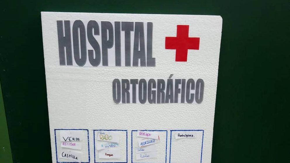 Una profesora crea el hospital ortográfico para enseñar a escribir a sus alumnos