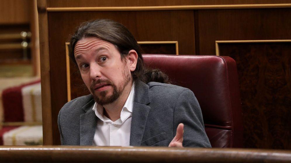 Foto: Pablo Iglesias, en el Congreso de los Diputados. (Reuters)