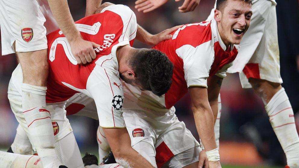 El Arsenal revive contra el Bayern y el Chelsea se empieza a complicar la vida