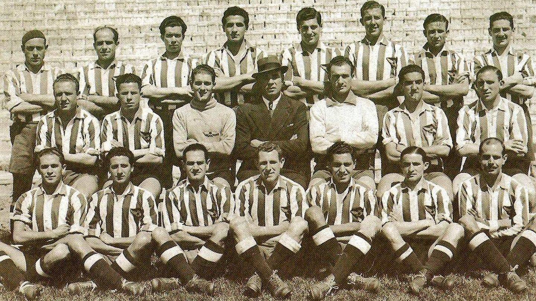Plantilla del Atlético Aviación 1939/40. (forocolchonero.com)