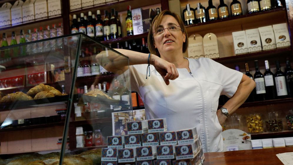 Foto: Anna Puigdemont, hermana de Carles. (Reuters)