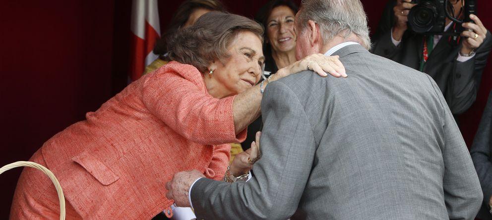 Foto: Don Juan Carlos y Doña Sofía este miércoles en Madrid (Gtres)