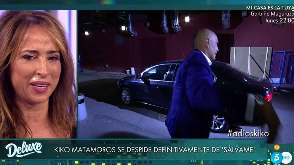 María Patiño llora día y noche por la despedida definitiva de Kiko Matamoros