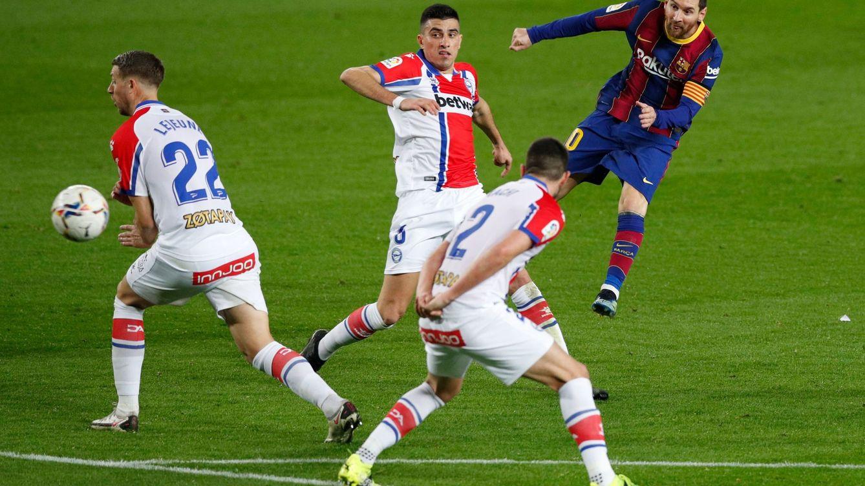 El Barça arrolla al Deportivo Alavés con un Leo Messi inspirado y devastador (5-1)
