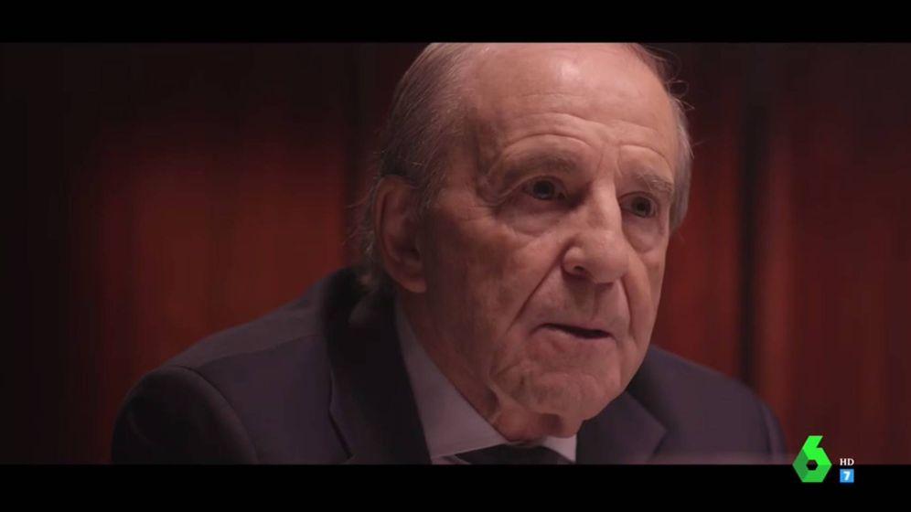 Foto: José María García en 'Salvados'.