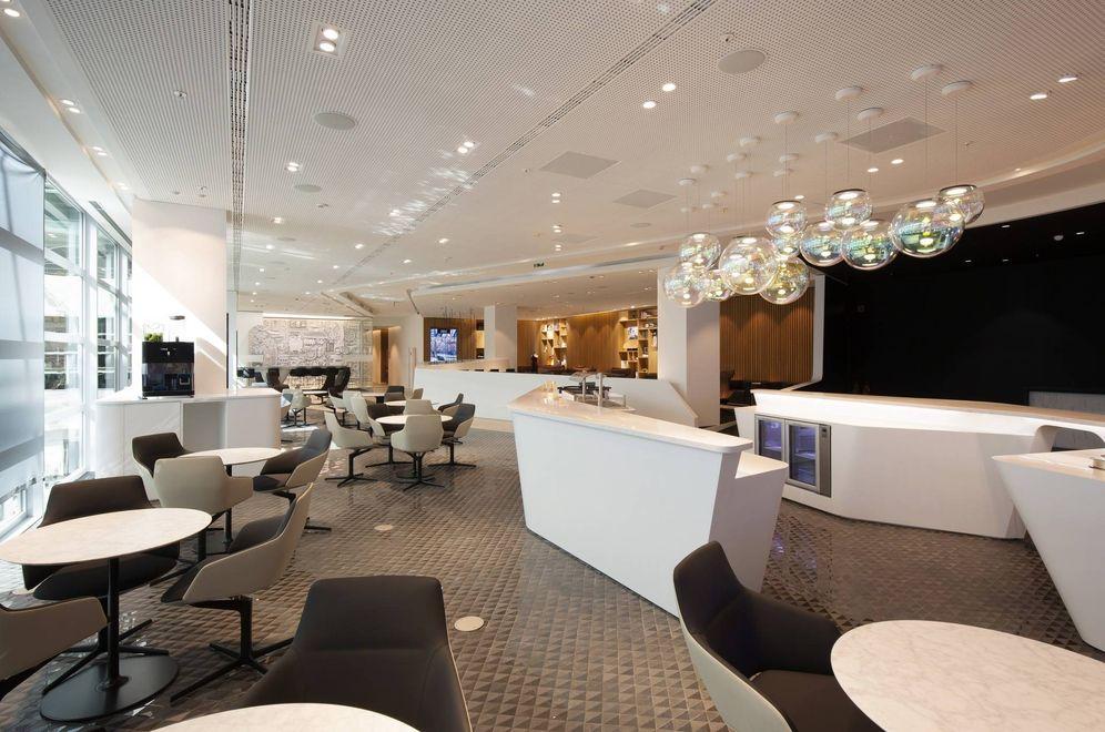 Foto: El aeropuerto de Bruselas ha inaugurado una sala vip que tiene hasta spa. (Foto: Lounge by Lexus)