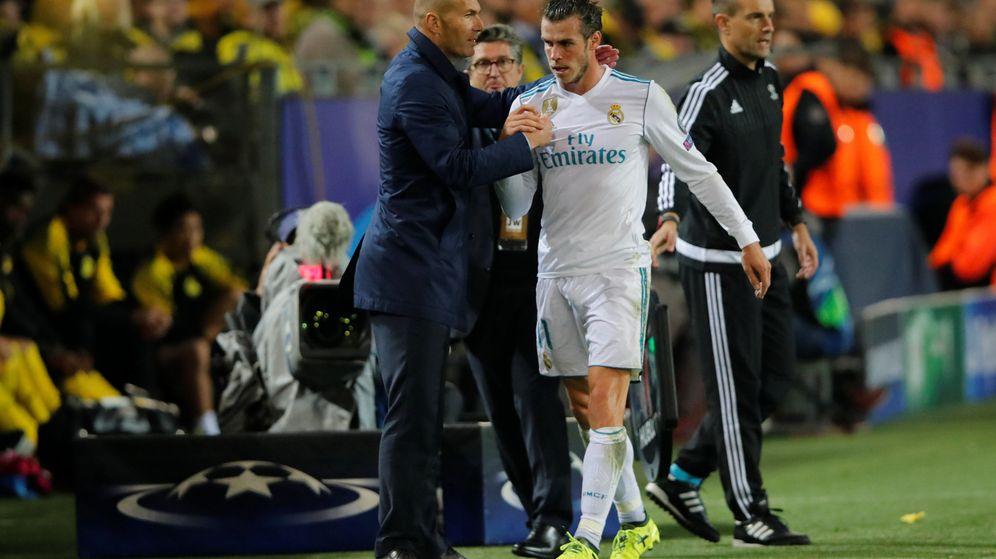 Foto: Zidane y Bale, en un partido de esta temporada. (Reuters)