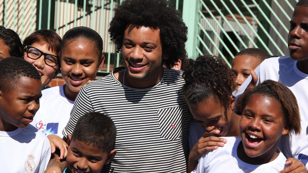 El fútbol y el Madrid como herramienta de atracción para salir de las favelas