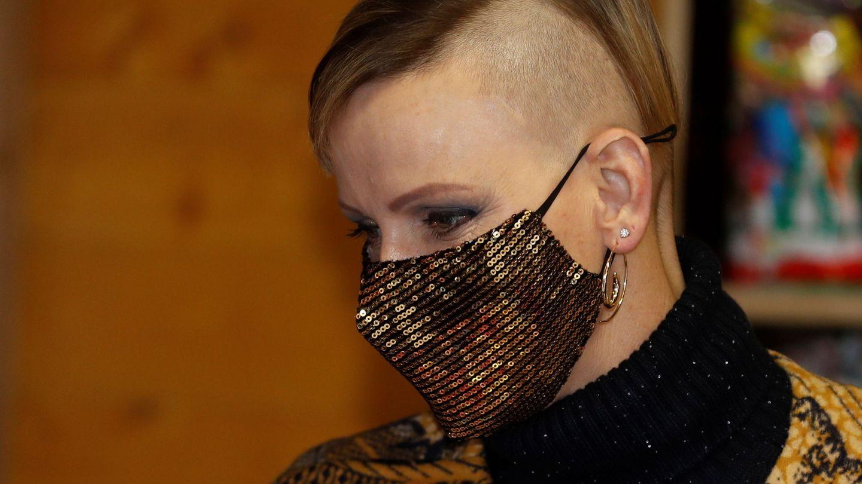 El nuevo look de Charlène. (Reuters)
