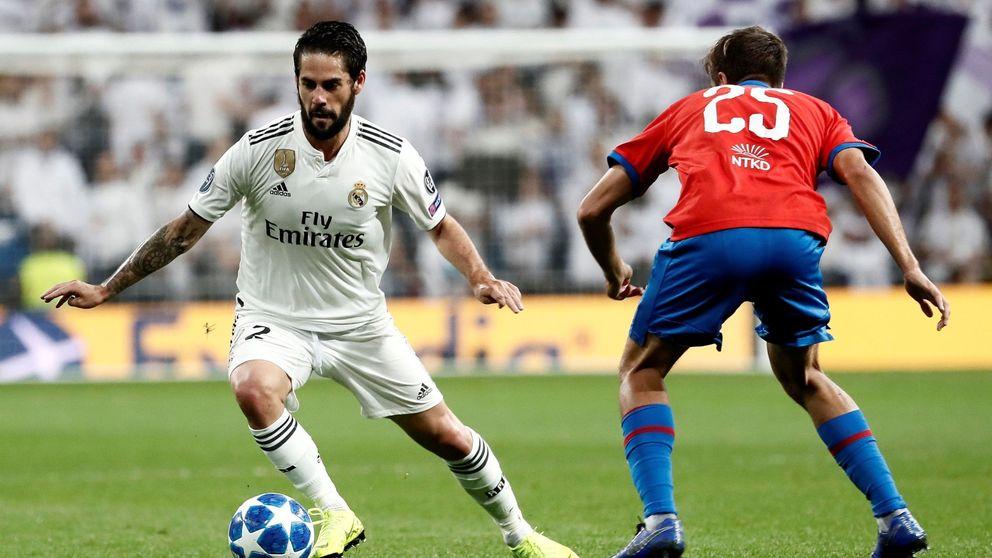 ¿Quién miente a Isco? Las excusas de Solari para ganarse el puesto en el Real Madrid