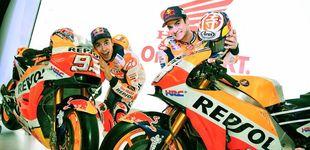 Post de Márquez y Pedrosa descubren su moto de la próxima temporada
