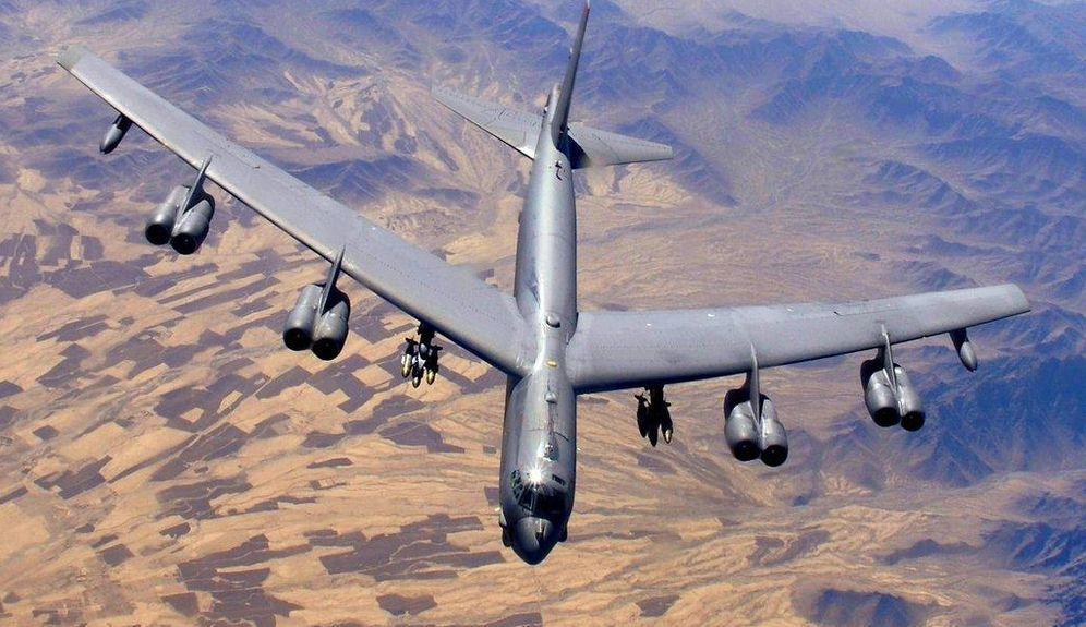 Foto: El bombardero B-52