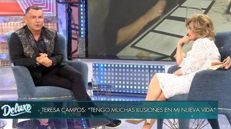 María Teresa Campos, durante una entrevista en 'Sábado Deluxe'. (Mediaset)