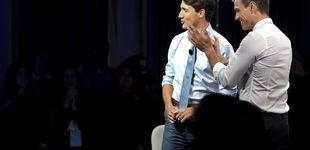 Post de Pedro Sánchez, toma nota: los calcetines que necesitas para competir con Trudeau