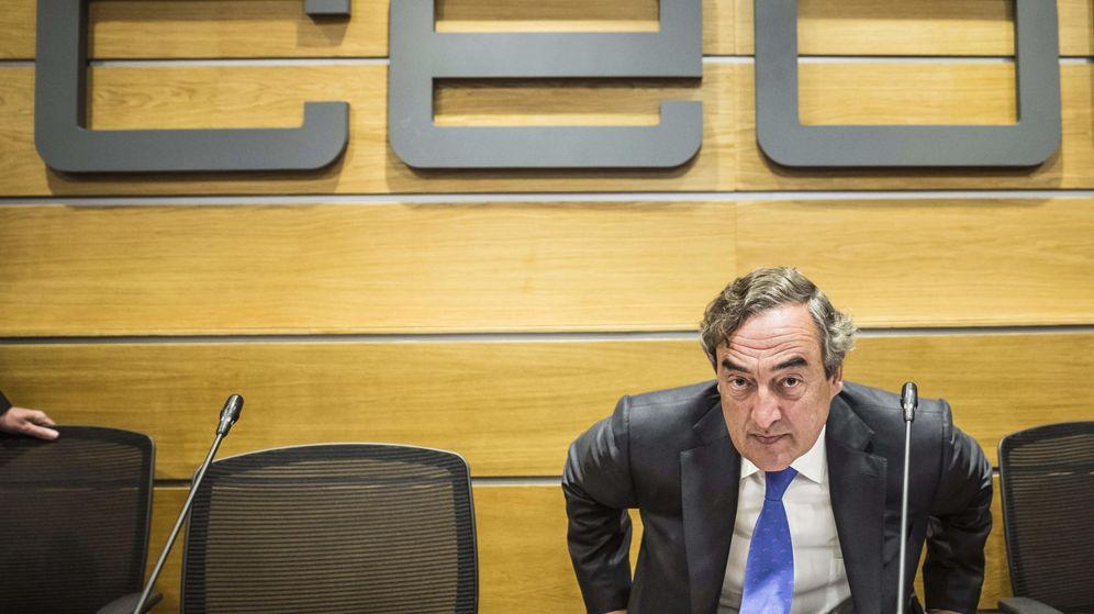 Foto: La última de Juan Rosell: quiere privatizar la sanidad y la educación