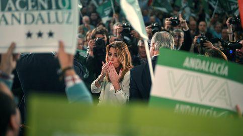 Amarga victoria de Susana Díaz: cae a 38 escaños y Vox irrumpe con fuerza