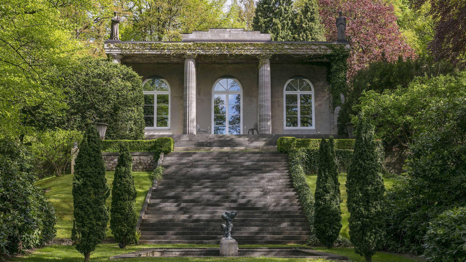 Foto: Fachada principal de la casa. (Engel & Völkers)