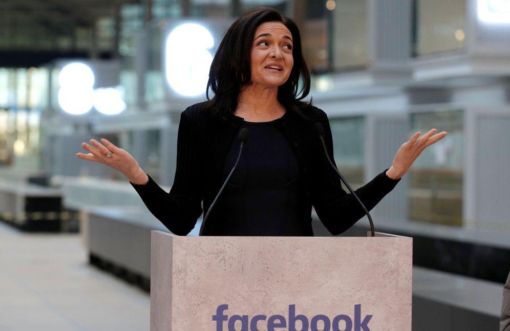 Foto: Sheryl Sandberg. (Philippe Wojazer / Reuters)