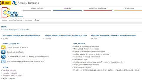 Renta 2018-2019: Así funciona el portal de la renta desde el que podrás presentar el borrador