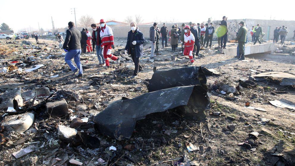 Un avión ucraniano se estrella en Irán y causa la muerte de todos sus ocupantes