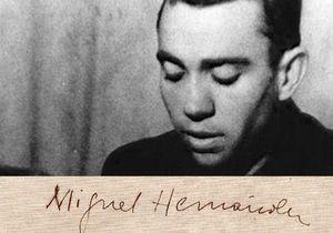 """Miguel Hernández: """"Que no se repita conmigo la muerte de García Lorca"""""""