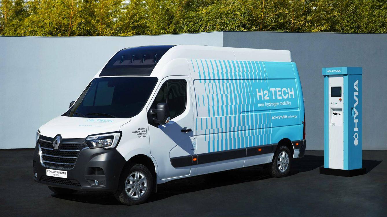 Una furgoneta de hidrógeno Renault y una estación de repostaje: las apuestas de Hyvia