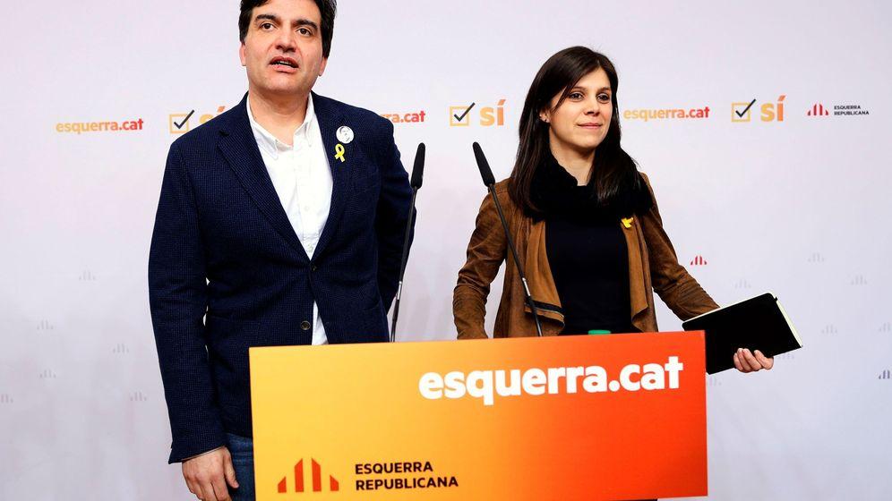 Foto: El portavoz parlamentario de ERC, Sergi Sabrià. (EFE)