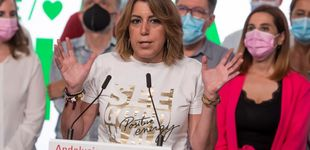 Post de Susana Díaz salva otra vez a Pedro Sánchez