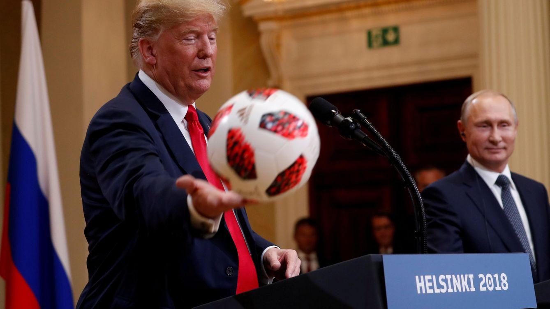 Donald Trump se posiciona en Helsinki: más a favor de Putin que de Estados Unidos