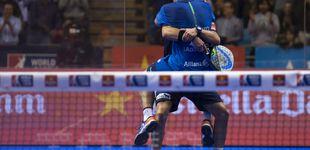 Post de Con puntos como este ganaron Paquito y Sanyo a Bela y Lima en Santander Open