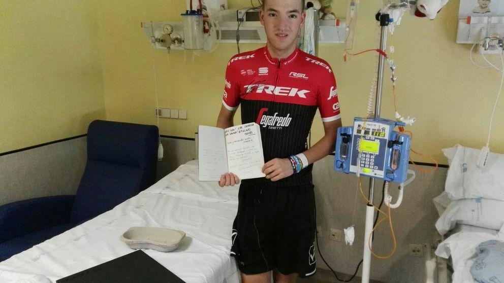 Juanfran, el madrileño al que Armstrong empuja en su lucha contra la leucemia