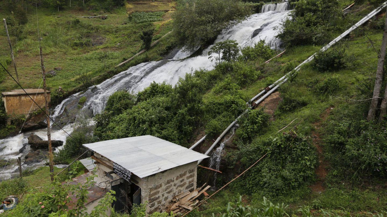 Minicentral eléctrica en Kenia (Reuters)