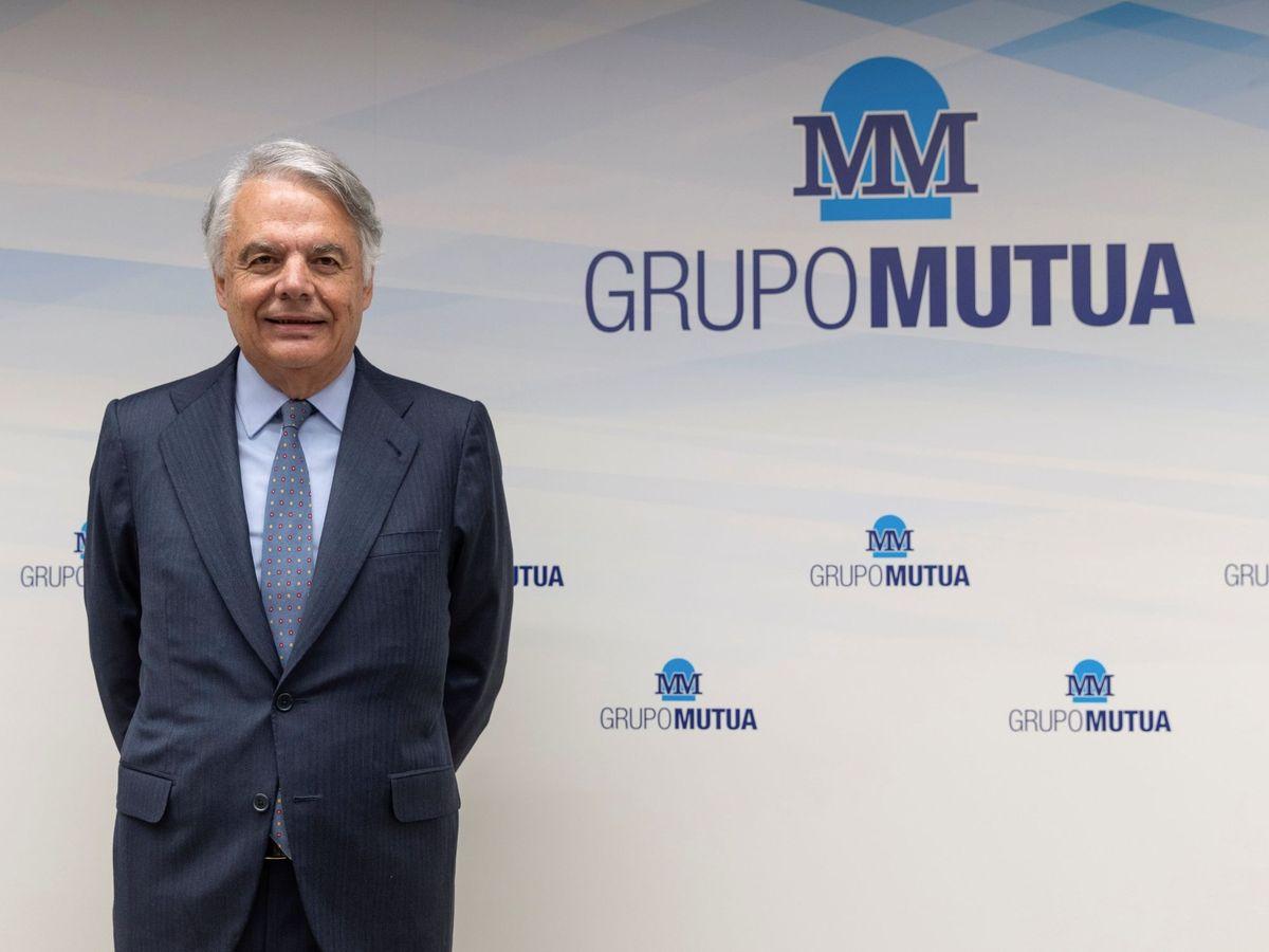 Foto: El presidente del Grupo Mutua Madrileña, Ignacio Garralda (EFE)