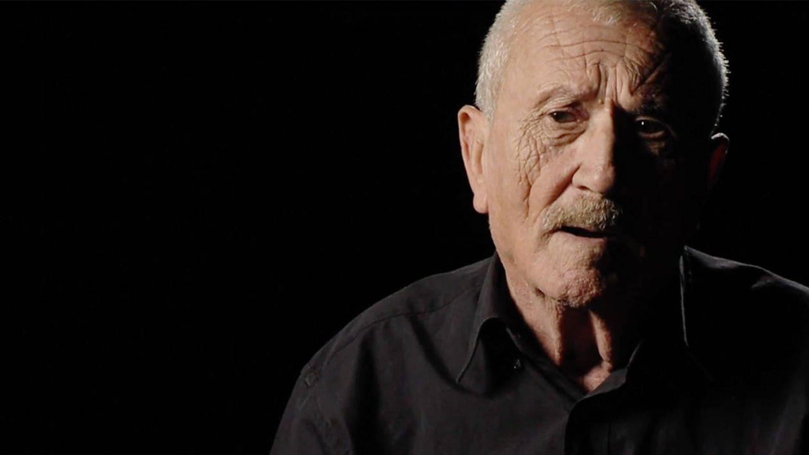 Foto: José Luis Espinosa, en el documental 'Cubillo, historia de un crimen de Estado'.