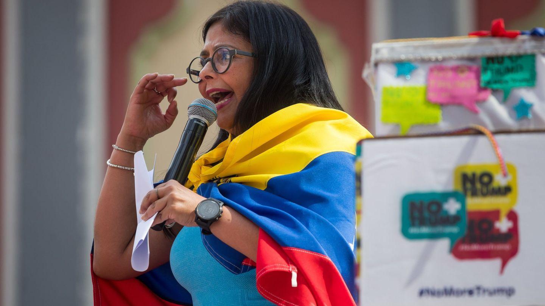 La vicepresidenta de Venezuela, Delcy Rodríguez. (EFE)
