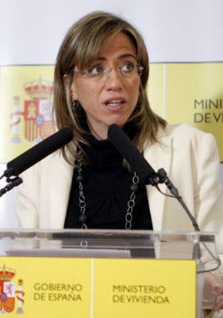 Foto: Chacón asegura que el acoso inmobiliario no va a quedar impune en España