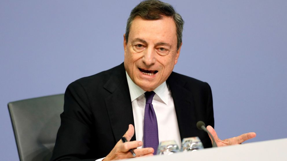 Draghi tumba las previsiones de euríbor de la banca en sus planes de negocio