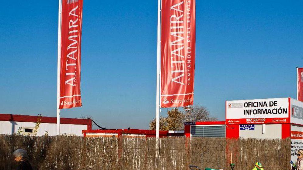 Foto: Altamira está participada por Apollo (85%) y Santander (15%).
