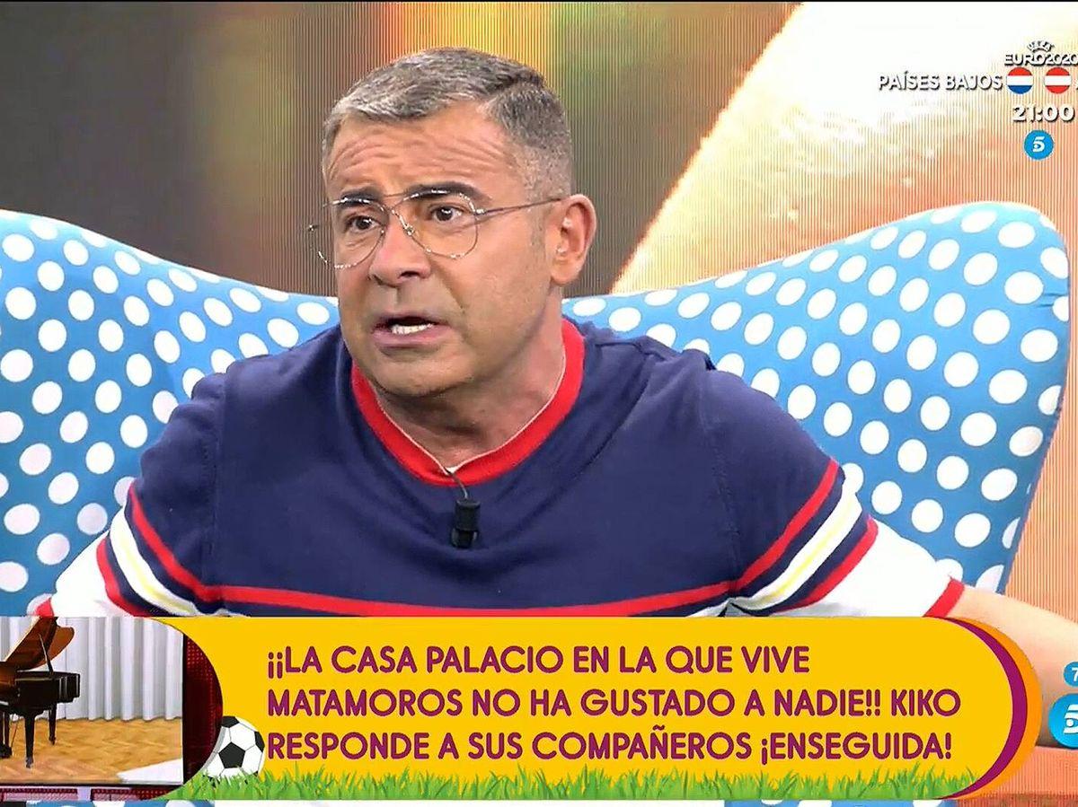Foto: Jorge Javier Vázquez, en 'Sálvame'. (Mediaset)