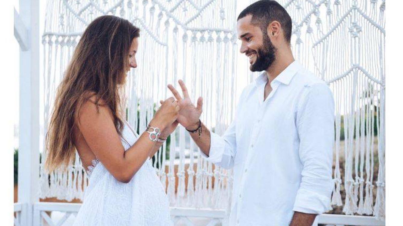 Las románticas fotos que confirman la boda de Malena Costa y Mario Suárez
