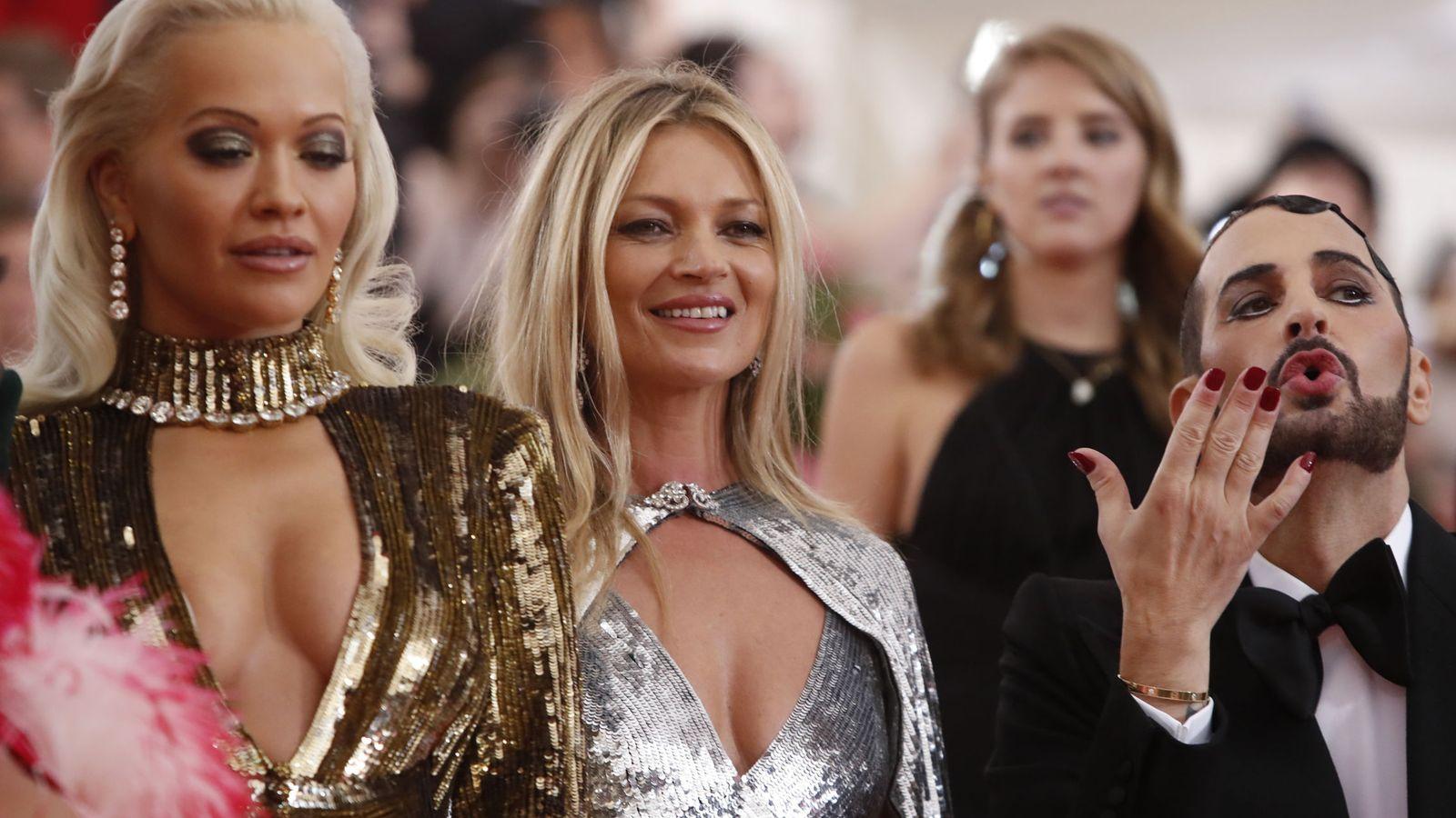 Foto: Kate Moss en la gala MET. (Reuters)