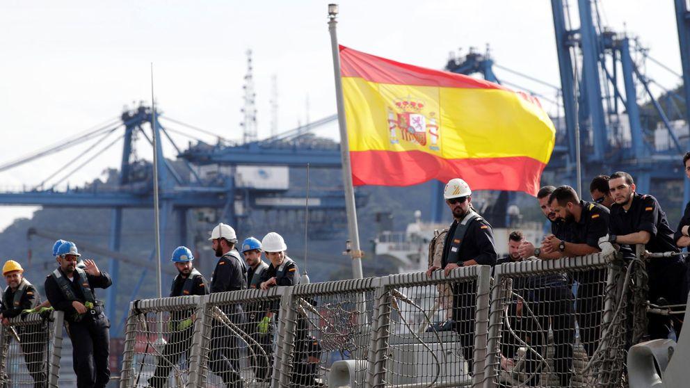 La parálisis política deja a España fuera de la flota europea en el Golfo Pérsico