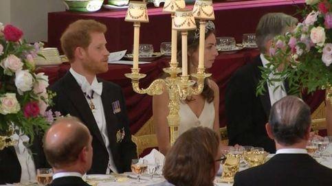 Sabemos quién es la guapa acompañante del príncipe Harry en la cena de gala