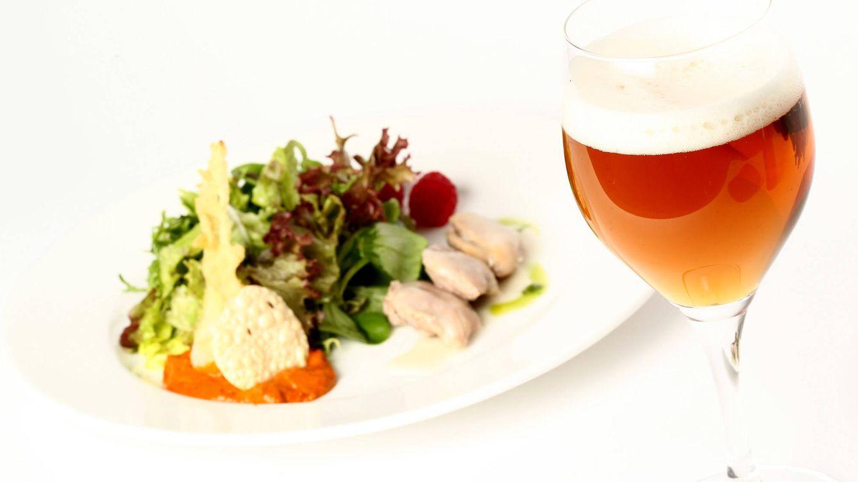 Foto: Los componentes ácidos de ciertas verduras solo toleran la combinación con las cervezas.