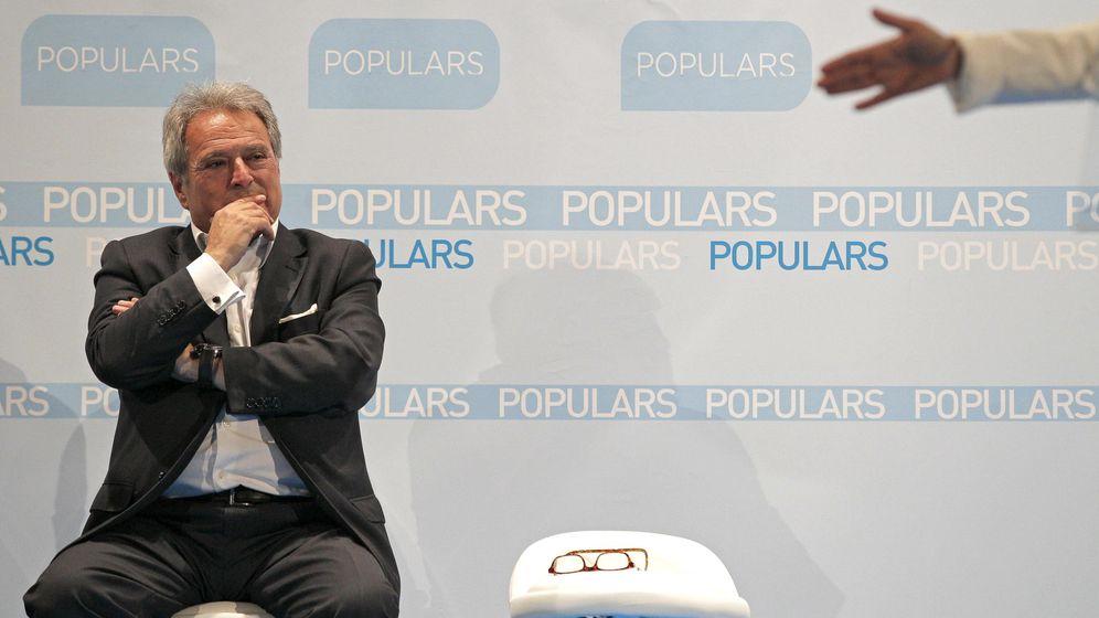 Foto: El expresidente del Partido Popular de la provincia de Valencia, Alfonso Rus (Efe)