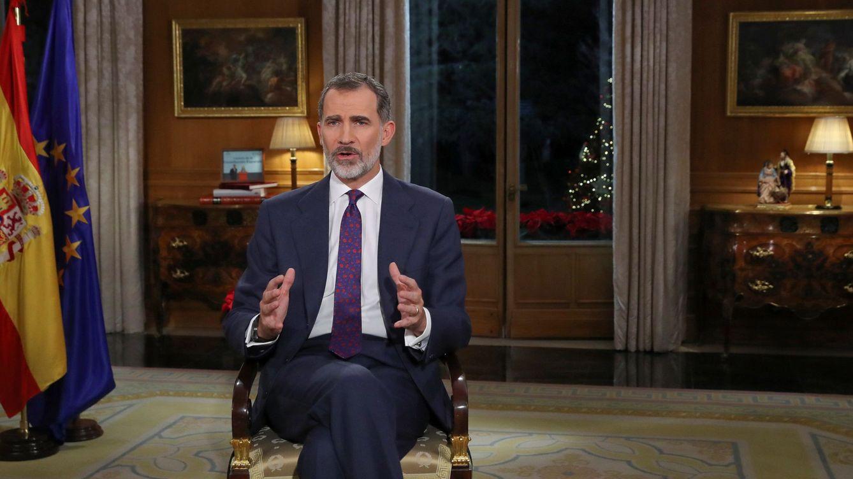 El Rey advierte de la fragilidad de la convivencia y pide respeto a la Constitución