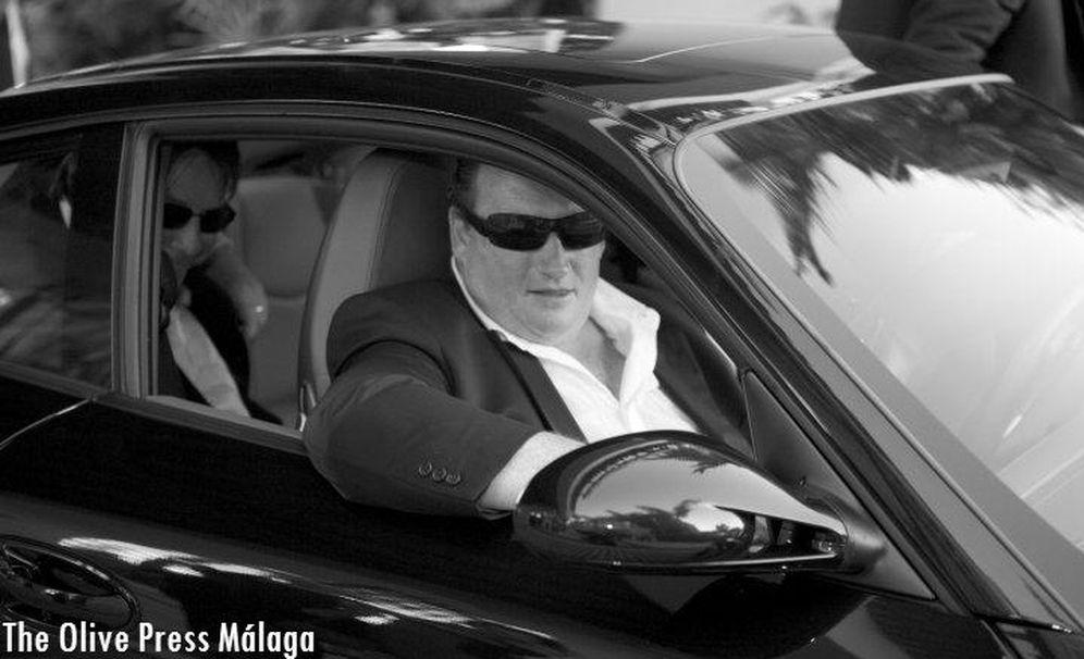 Foto: Nigel Goldman en Marbella. (The Olive Press Málaga)