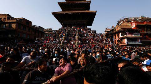 Festival de Biska en Nepal
