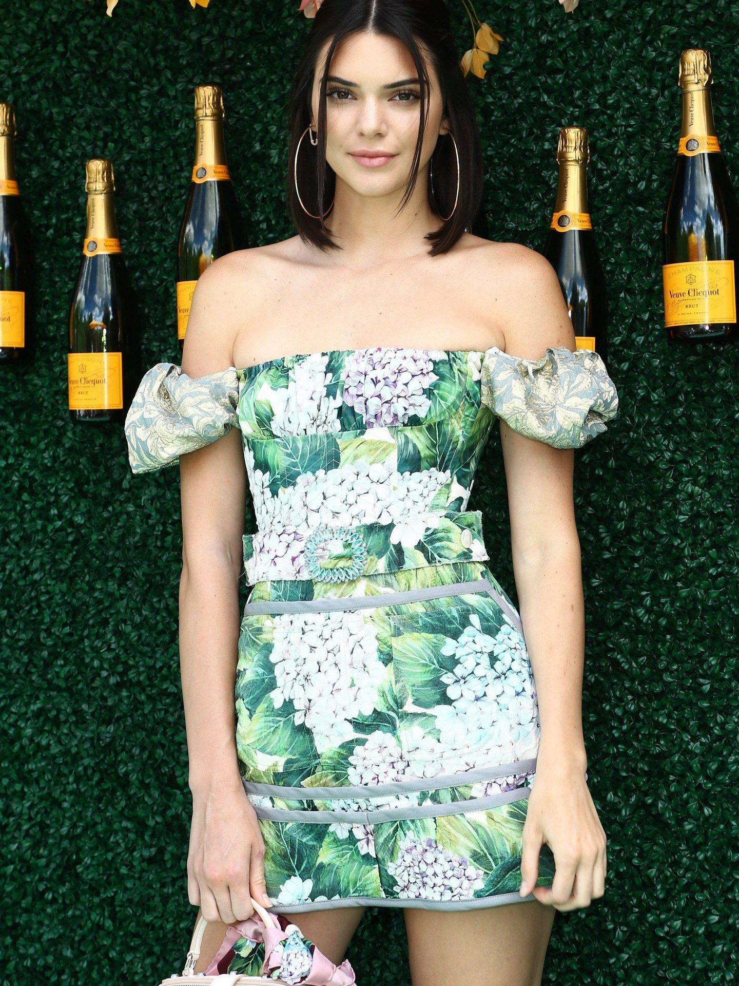 Kendall Jenner vestida de Dolce & Gabbana. (Cordon Press)